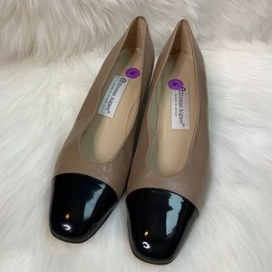 Etienne Aigner chunky heeled dress shoes size 9.5